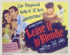 Leave It to Blondie 1945 DVD - Penny Singleton / Arthur Lake